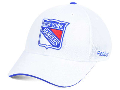 New York Rangers Reebok NHL Team Logo Flex Cap