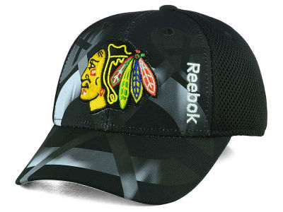 Chicago Blackhawks Reebok NHL 2nd Season Flex Cap