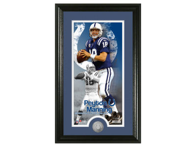 "Indianapolis Colts Peyton Manning Peyton Manning ""Colts Career"" Supreme Minted Coin"