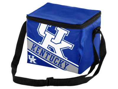 Kentucky Wildcats 6-pack Big Logo Stripe Lunch Cooler