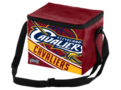 Cleveland Cavaliers 6-pack Big Logo Stripe Lunch Cooler