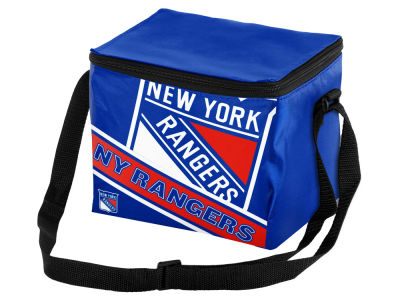 New York Rangers 6-pack Big Logo Stripe Lunch Cooler