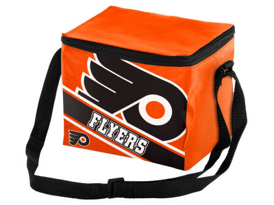 Philadelphia Flyers 6-pack Big Logo Stripe Lunch Cooler