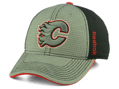 Calgary Flames Reebok 2016 NHL Travel and Training Flex Cap
