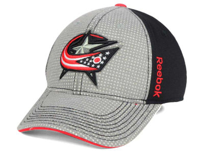 Columbus Blue Jackets Reebok 2016 NHL Travel and Training Flex Cap