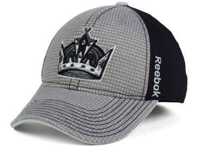 Los Angeles Kings Reebok 2016 NHL Travel and Training Flex Cap