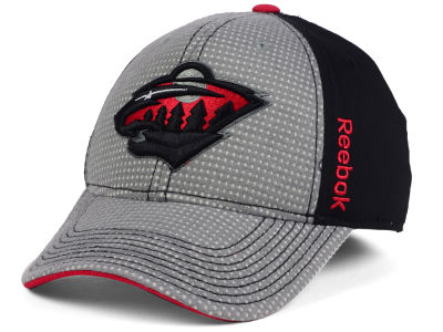 Minnesota Wild Reebok 2016 NHL Travel and Training Flex Cap
