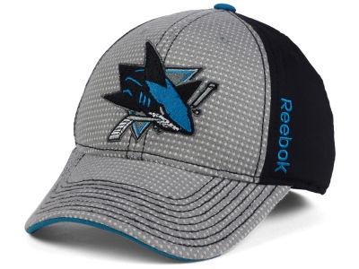 San Jose Sharks Reebok 2016 NHL Travel and Training Flex Cap