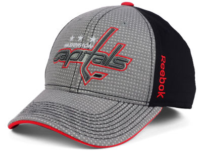 Washington Capitals Reebok 2016 NHL Travel and Training Flex Cap