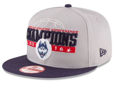 Connecticut Huskies New Era NCAA 2016 AAC Tourney Champs Cap