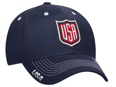 USA Hockey adidas NHL World Cup of Hockey Team Flex Cap