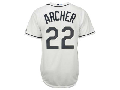 Tampa Bay Rays Chris Archer Majestic MLB Youth Player Replica Cool Base Jersey