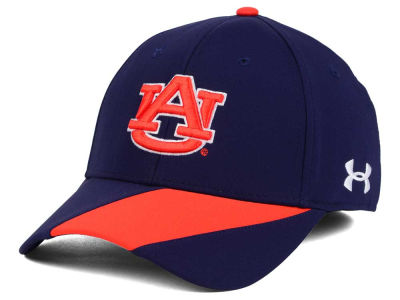 Auburn Tigers Under Armour NCAA Renegade Accent Stretch Cap