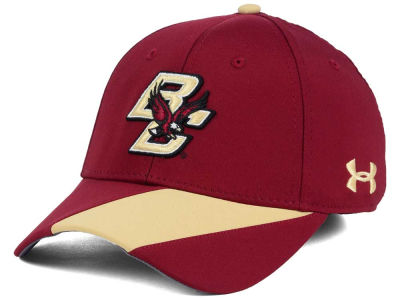 Boston College Eagles Under Armour NCAA Renegade Accent Stretch Cap