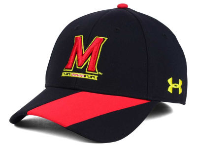 Maryland Terrapins NCAA Renegade Accent Stretch Cap