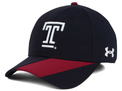 Temple Owls NCAA Renegade Accent Stretch Cap