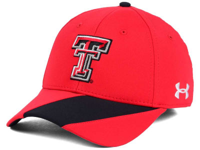 Texas Tech Red Raiders Under Armour NCAA Renegade Accent Stretch Cap