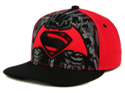 DC Comics Side By Side Snapback Hat