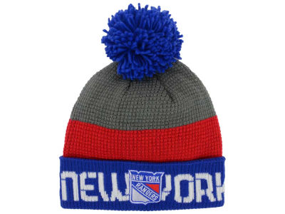 New York Rangers Reebok NHL Pom Knit