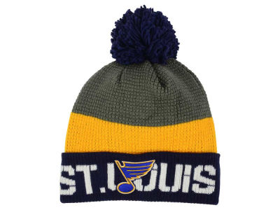 St. Louis Blues Reebok NHL Pom Knit
