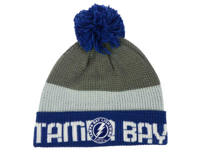 Tampa Bay Lightning Reebok NHL Pom Knit