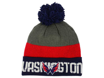 Washington Capitals Reebok NHL Pom Knit