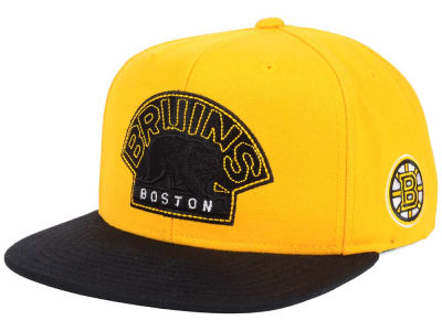 Boston Bruins Reebok NHL 3T Snapback Cap