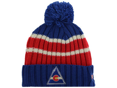 Colorado Rockies Reebok NHL CCM Pom Knit