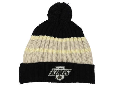 Los Angeles Kings Reebok NHL CCM Pom Knit