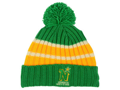 Minnesota North Stars Reebok NHL CCM Pom Knit