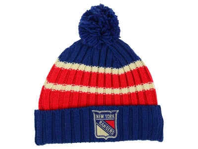 New York Rangers Reebok NHL CCM Pom Knit