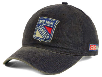 New York Rangers Reebok NHL Easy Adjustable Cap