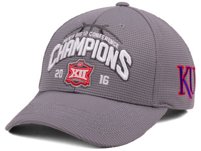 Kansas Jayhawks Top of the World NCAA 2016 Big 12 Tourney Champs Cap