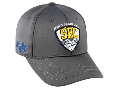 Kentucky Wildcats Top of the World NCAA 2016 SEC Tourney Champs Cap