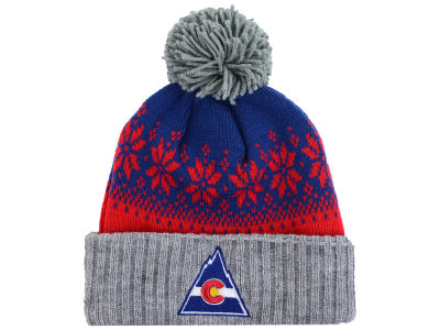 Colorado Rockies NHL Mitchell and Ness Snowflake Knit