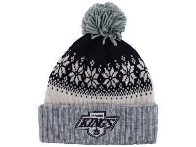 Los Angeles Kings NHL Mitchell and Ness Snowflake Knit