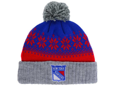 New York Rangers NHL Mitchell and Ness Snowflake Knit