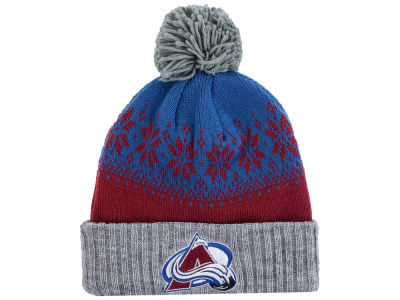 Colorado Avalanche NHL Mitchell and Ness Snowflake Knit