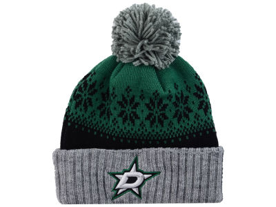 Dallas Stars NHL Mitchell and Ness Snowflake Knit