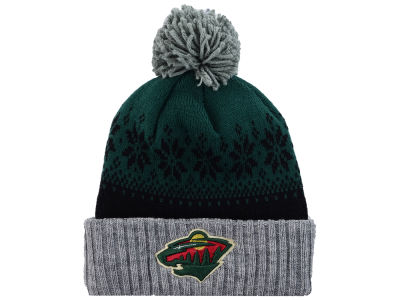 Minnesota Wild NHL Mitchell and Ness Snowflake Knit