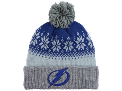 Tampa Bay Lightning NHL Mitchell and Ness Snowflake Knit