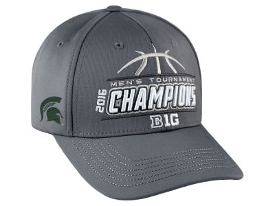 Michigan State Spartans Top of the World NCAA 2016 Big 10 Tourney Champs Cap