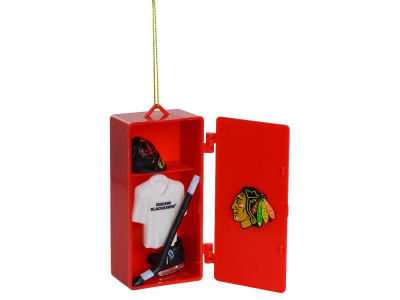 Chicago Blackhawks Sports Locker Ornament