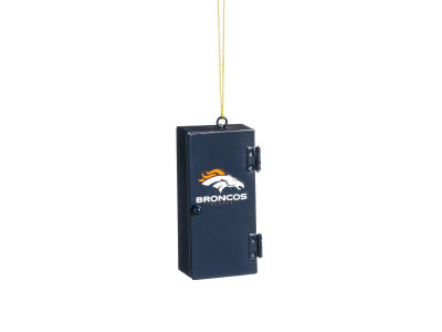 Denver Broncos Sports Locker Ornament
