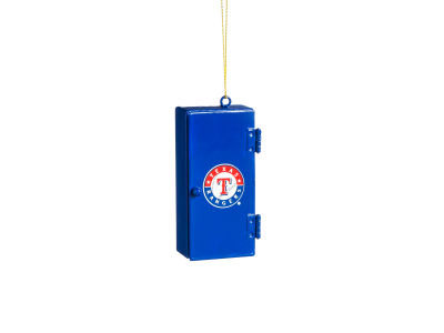 Texas Rangers Sports Locker Ornament