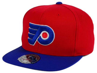 Philadelphia Flyers NHL Current Throwback Fitted Cap