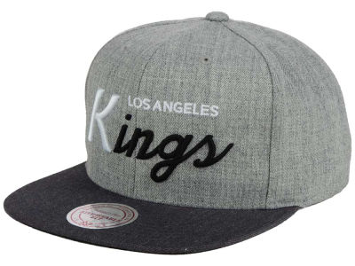 Los Angeles Kings NHL Tri-Pop Script Snapback Cap