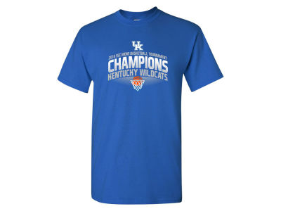 Kentucky Wildcats NCAA Men's SEC Tourney Champ Net T-Shirt