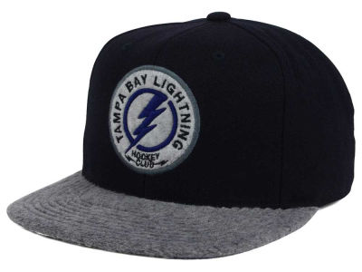 Tampa Bay Lightning NHL Fuzz 2Tone Fitted Cap
