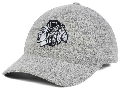 Chicago Blackhawks NHL Gray Duster Flex Cap
